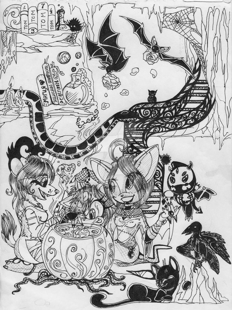 Triple E sketch by Genetta-TO