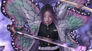 illust35 Shinobu|Butterfly