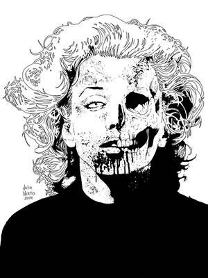 MarilynzombieMarilyn zombie by julionieto