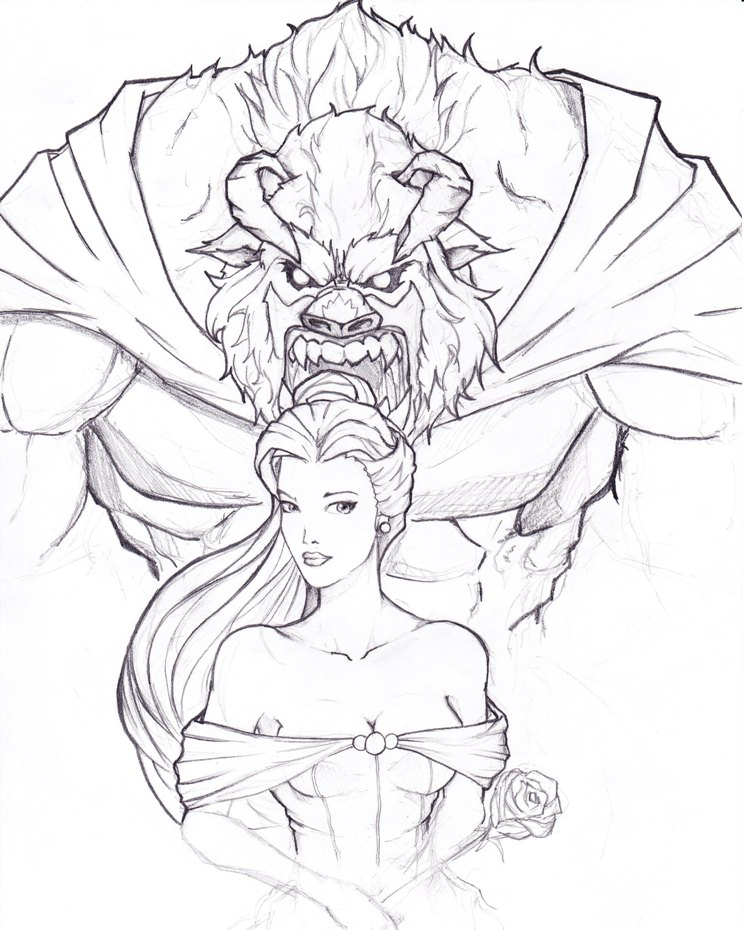 Beauty and the BEAST by TruZe on DeviantArt