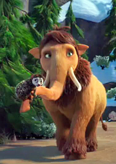 ice age 4 characters peaches - photo #15