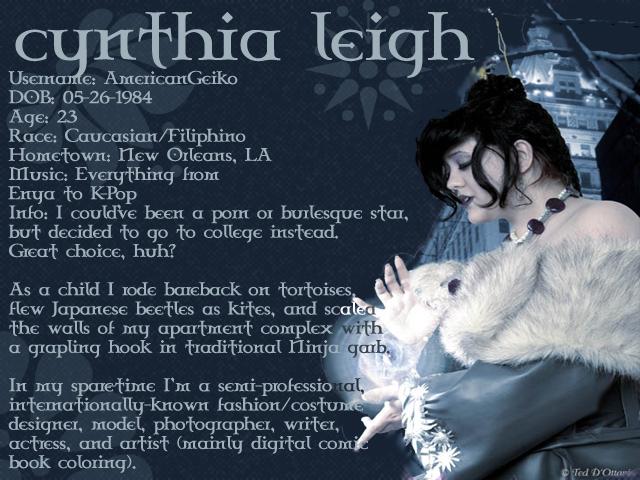 Cynthia Leigh