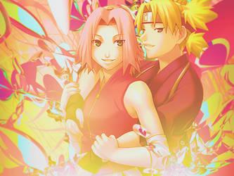 Temari and Sakura by Kyu-Chan323