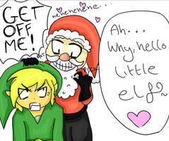 Link's Unfortunate Christmas by Harnikawa