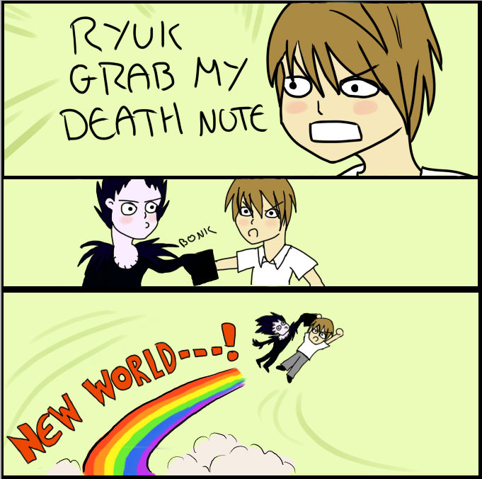 GRAB MY DEATH NOTE
