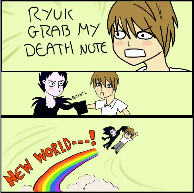 GRAB MY DEATH NOTE by Harnikawa