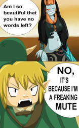 Link has no words left by Harnikawa