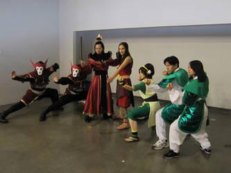 Avatar Group Cosplay