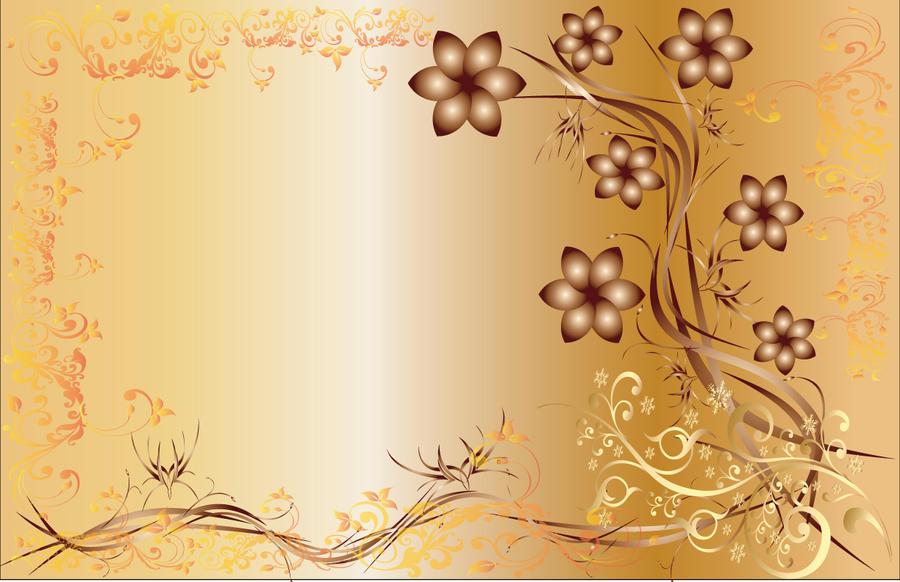 golden flowery wallpaper by greeniiishfairy on deviantart