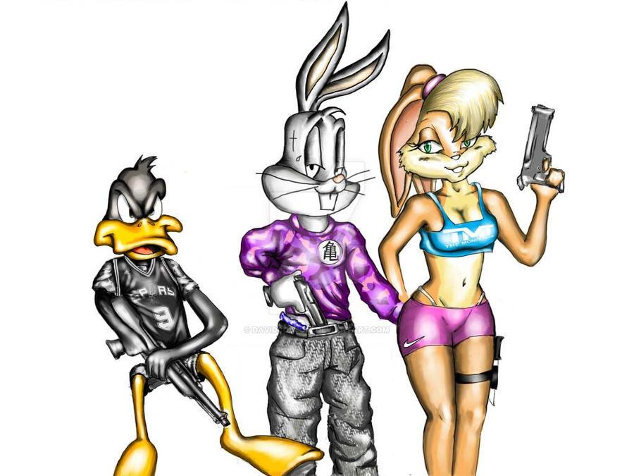 Looney Tunes Gangsta Version Digital By Davidcodjo22 On Deviantart