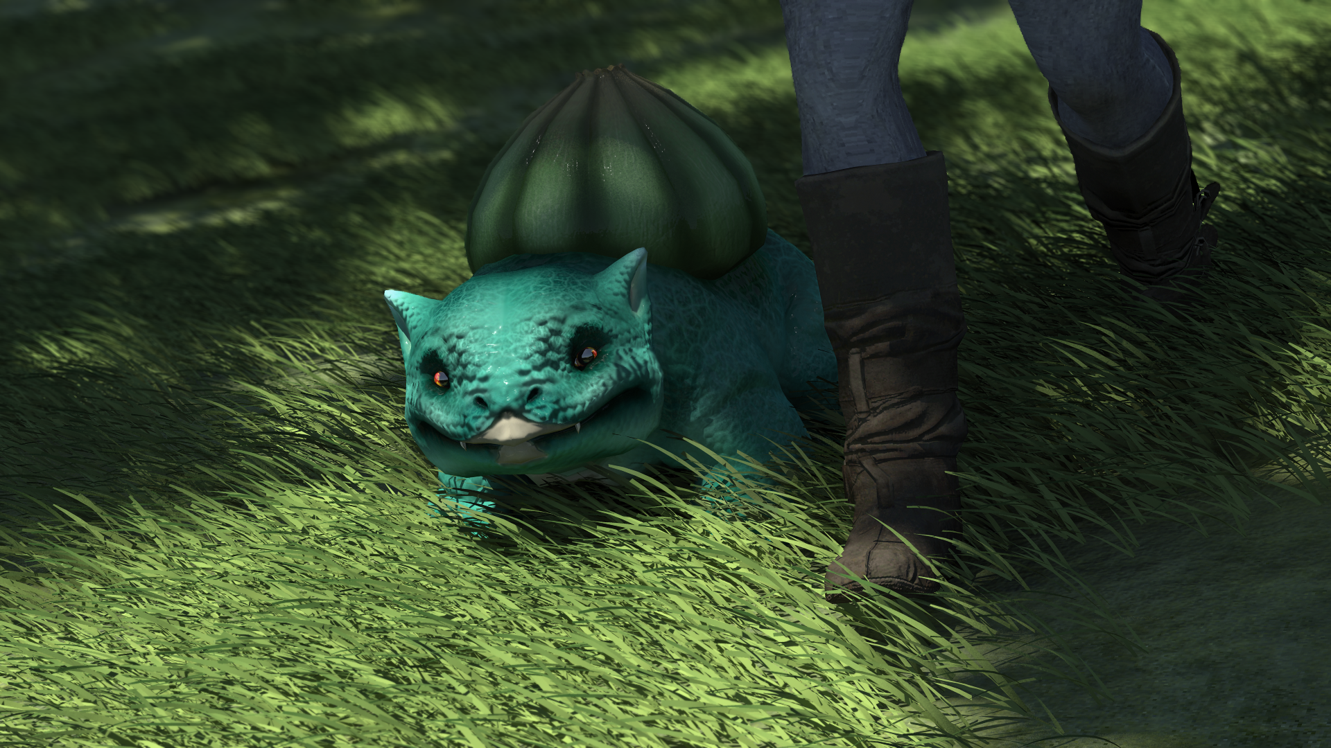 Bulbasaur On A Walk