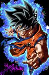 Goku Ultra Instinct (With Aura)