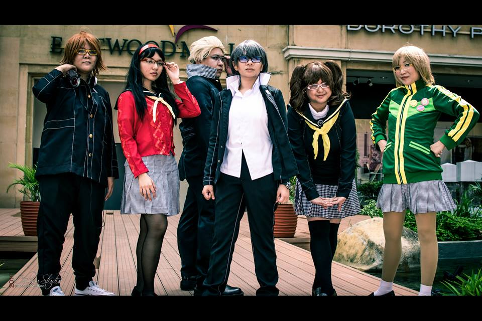 Persona 4 Gang by ryekun