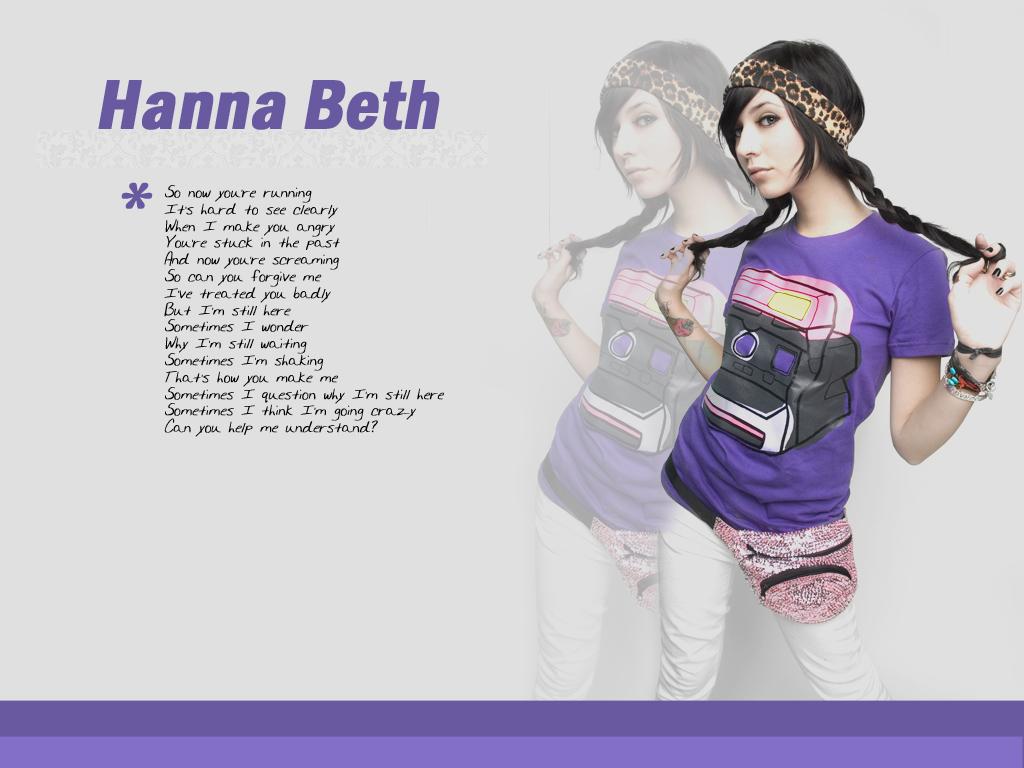 Hanna Beth wall II by unterdersonne
