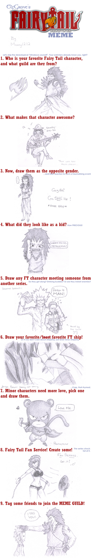 Fairy Tail Meme by manny1212