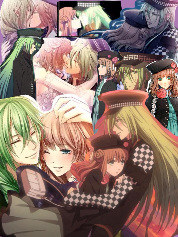 Amnesia: Heroine X Ukyo Collage by SisterStories