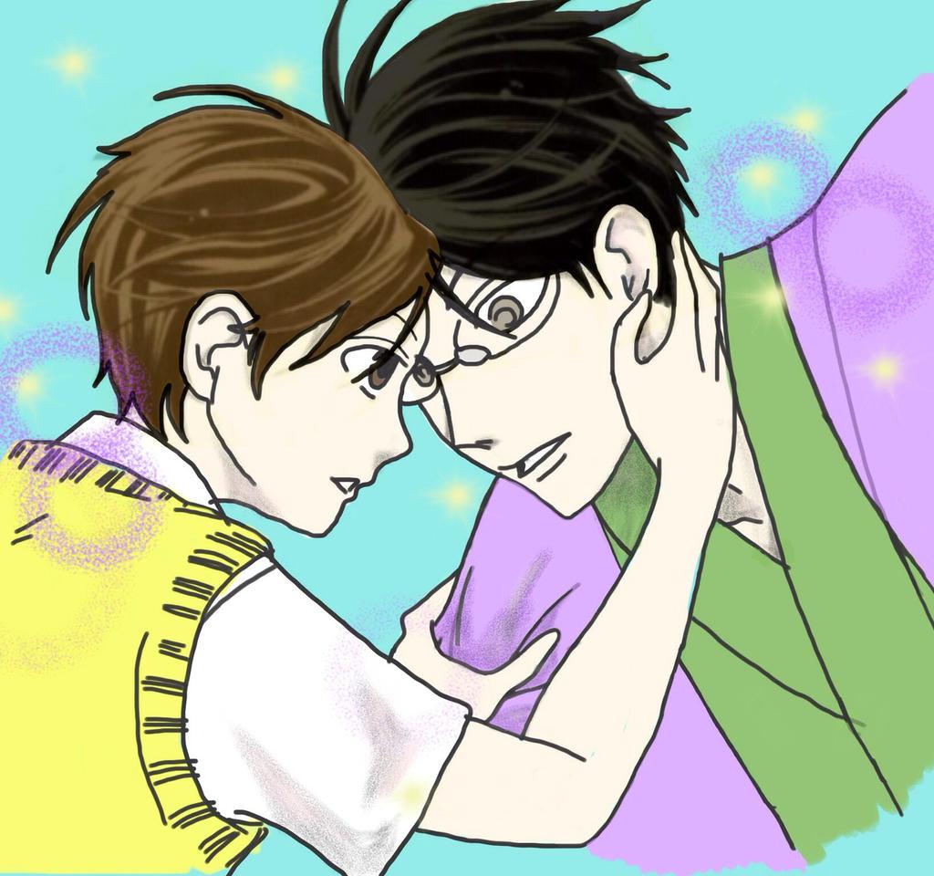 KyoyaXHaruhi-Missed Kiss? by SisterStories