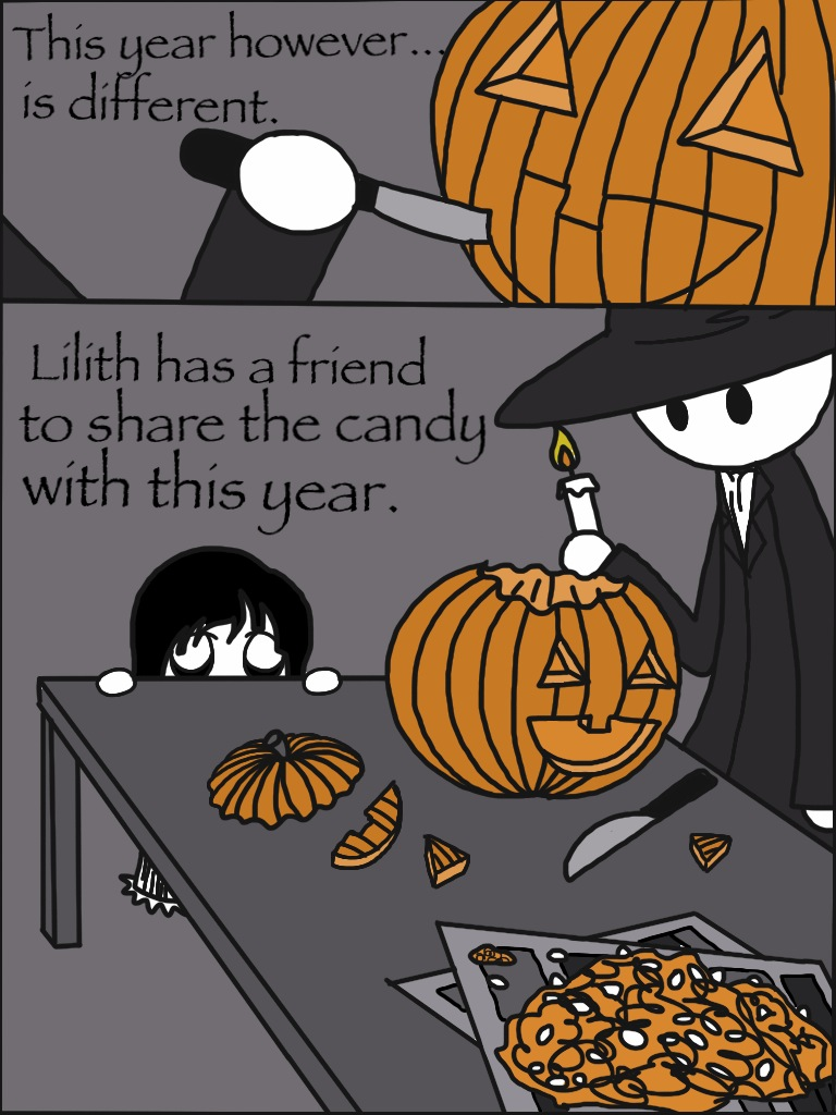 Lilith and Shade-Ch2~Halloween Pg 3 by SisterStories