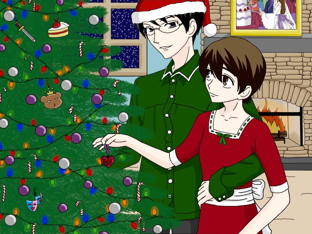 KyoyaXHaruhi-Christmas Love by SisterStories