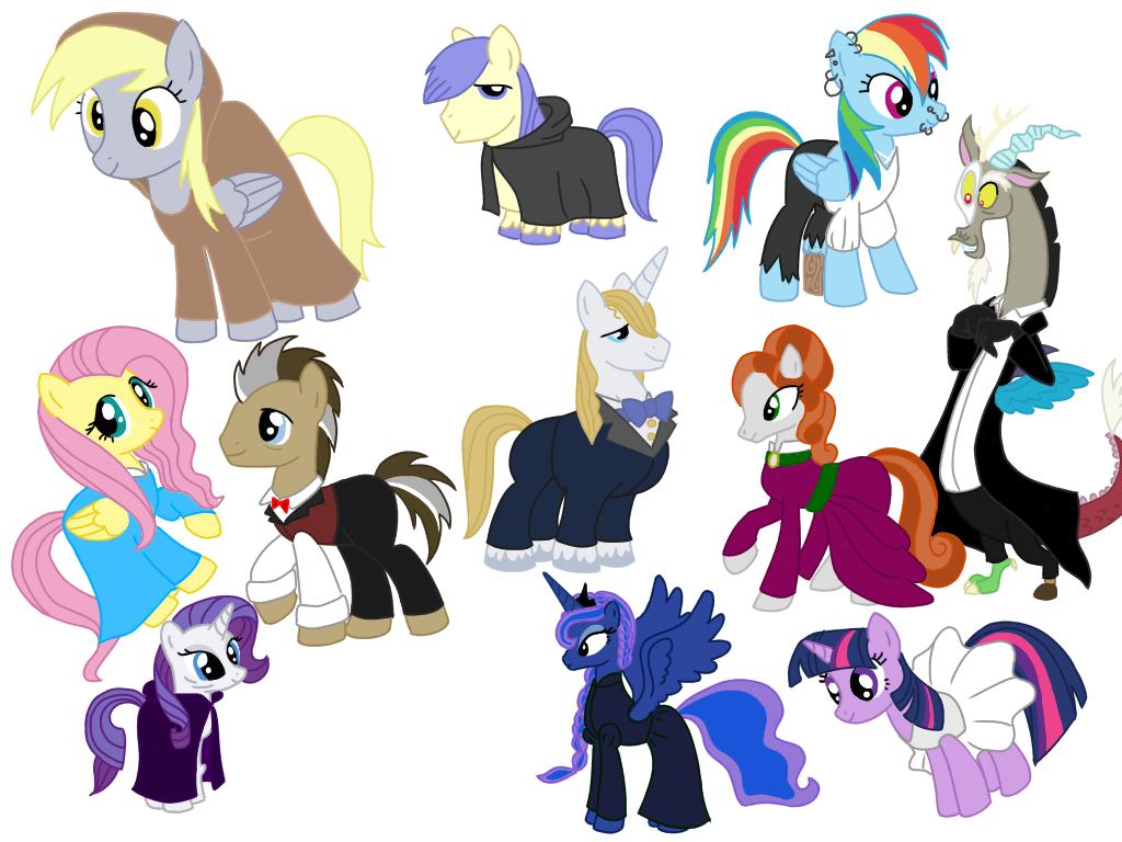 MLP-Opera Phantom Discord Character design by SisterStories