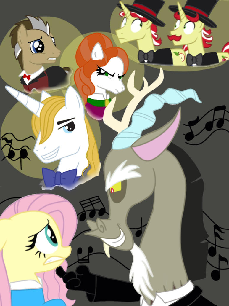 Opera Phantom Discord Poster #1 by SisterStories