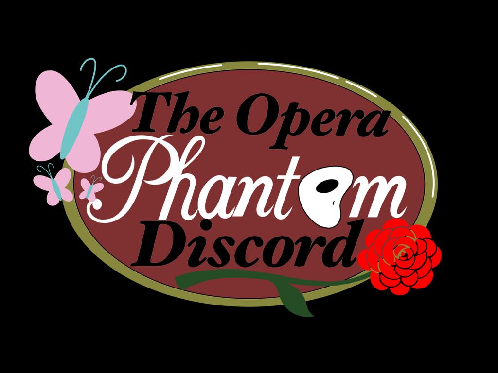 Offical Opera Phantom Discord Logo by SisterStories