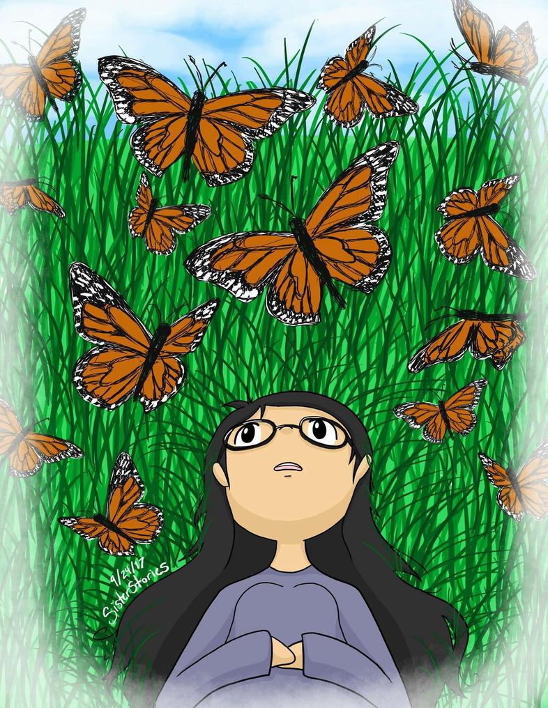 Dreams of Butterflies by SisterStories