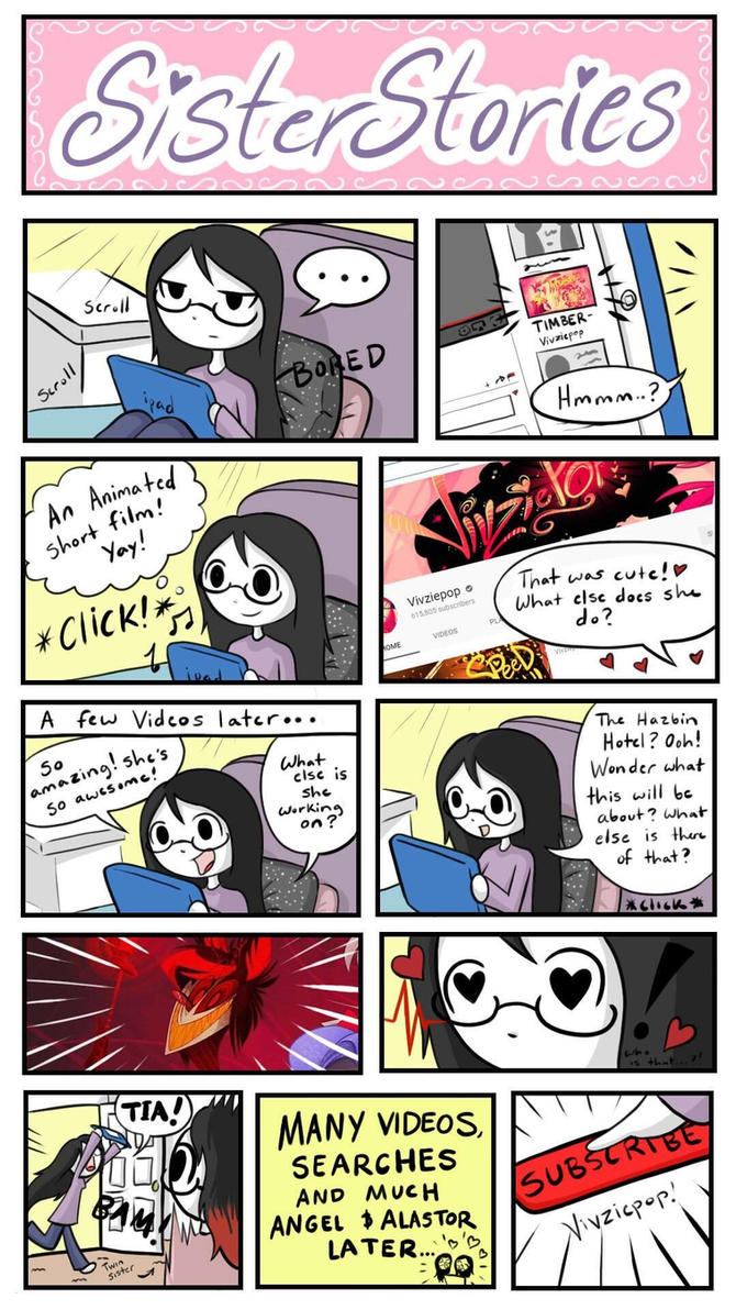 Vivziepop Comic  by SisterStories