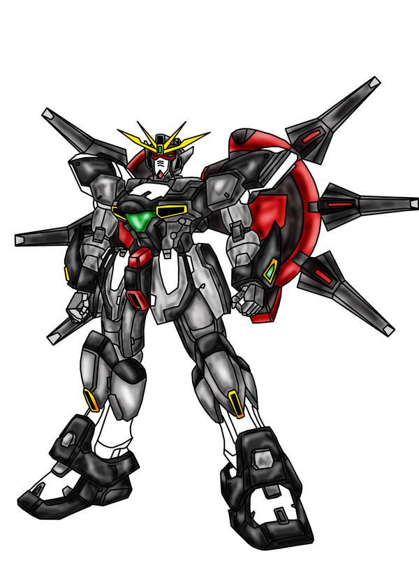 Gundam G4-ZM8 Shadow by Ahnirr