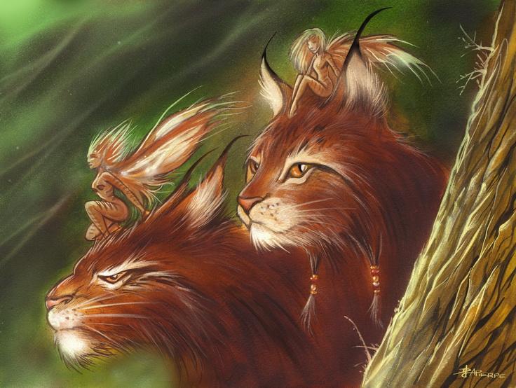 lynx spirit by denlapierre
