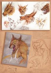 werewolf by denlapierre