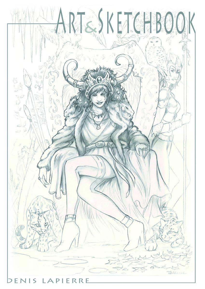 savage queen by denlapierre