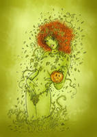 poison ivy by denlapierre