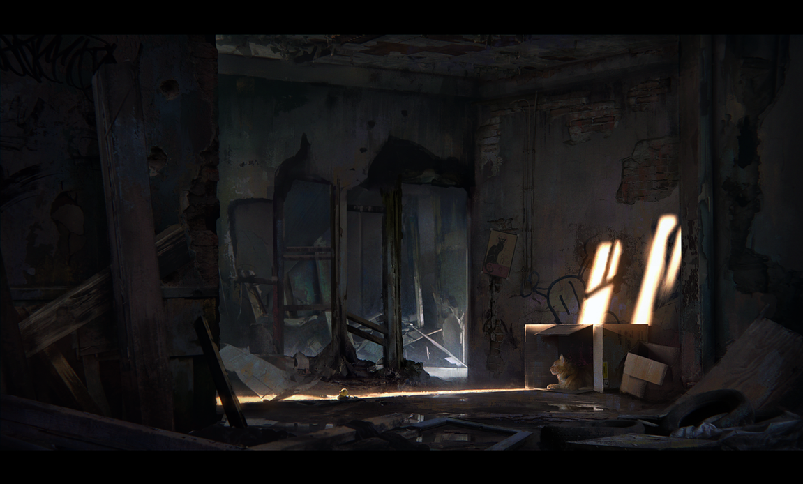 Abandon Interior by MathiasZamecki