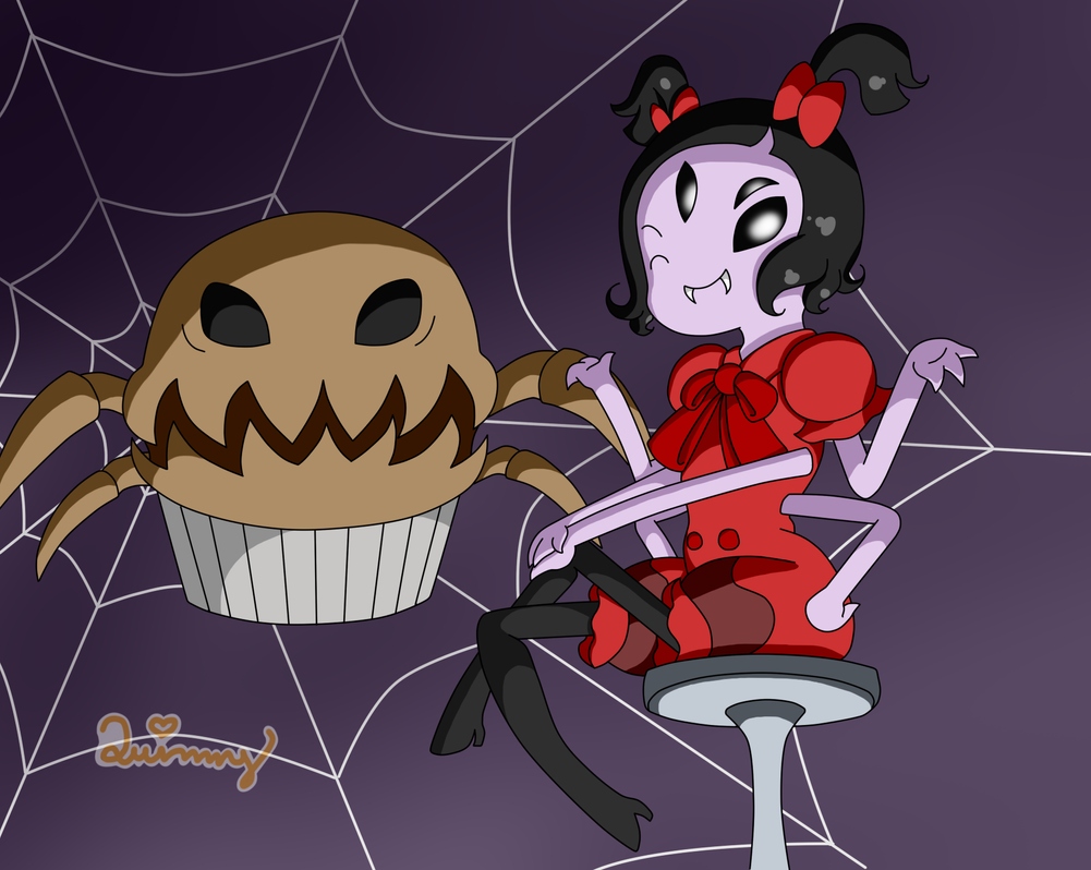Muffet's Web by Yanie-The-Brown-Pone