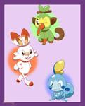 Gen 8 Cuties