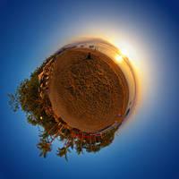 Sunrise at Sindhu Beach Planet by SaiogaMan