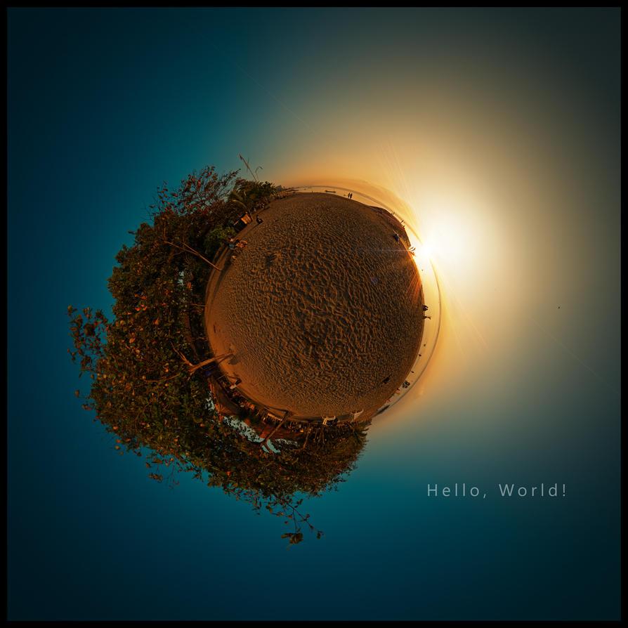 Hello World by SaiogaMan