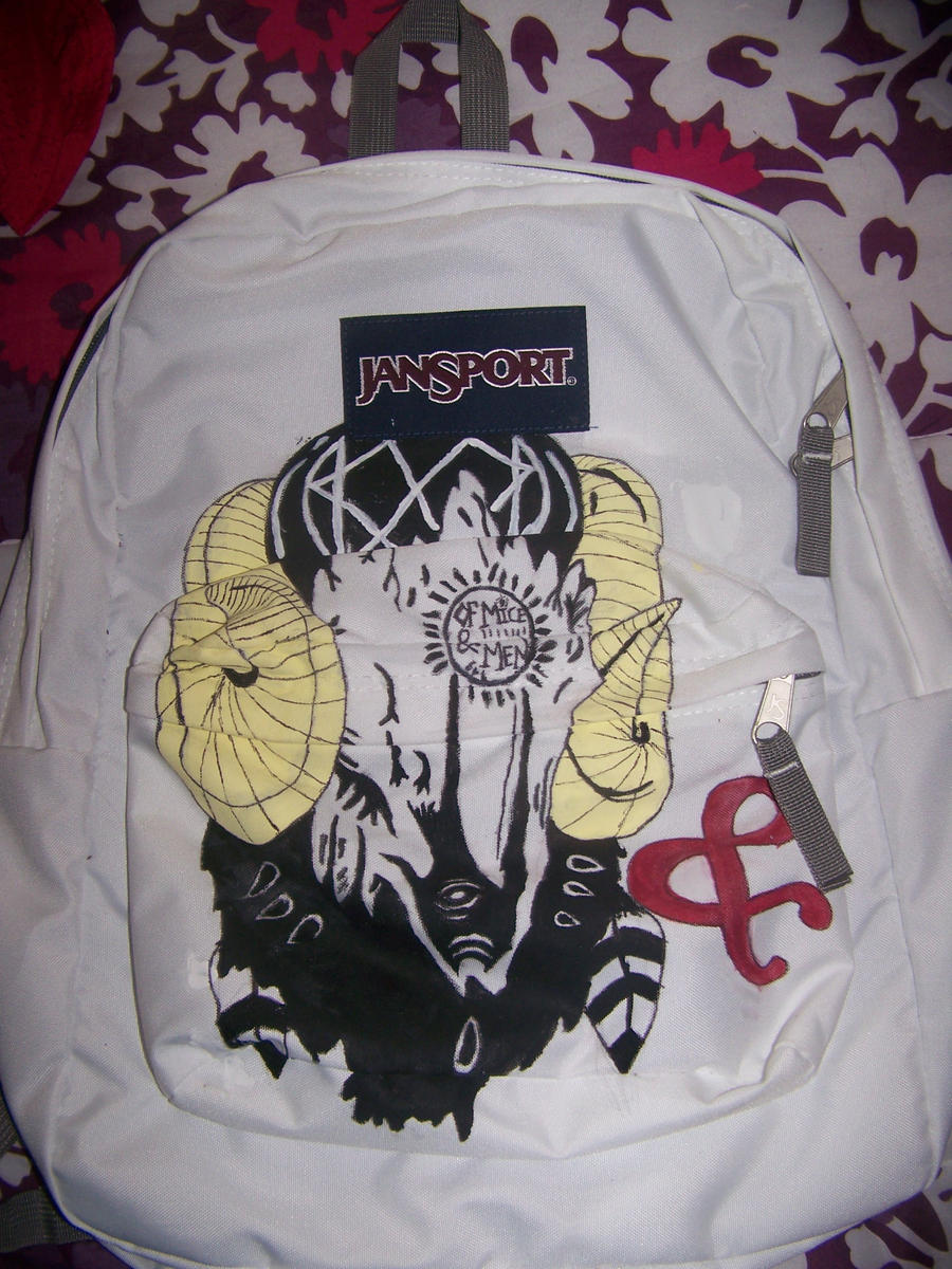 Of Mice n Men Backpack by sinistertale