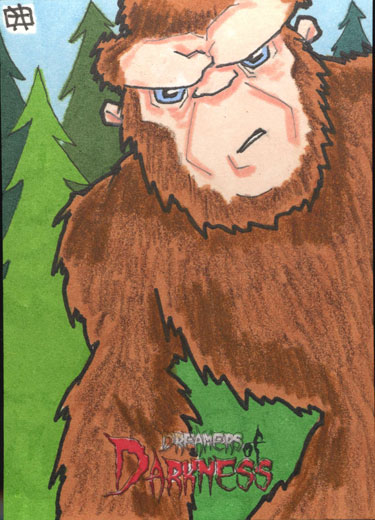 Dream of Darkness - Sasquatch by 10th-letter