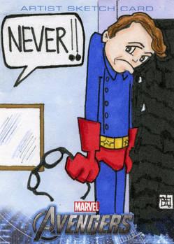 Avengers Assemble - Rick Jones as Bucky