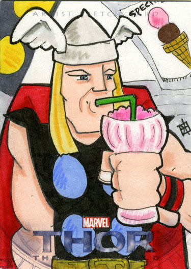 Thor, The Dark World - Milkshake by 10th-letter