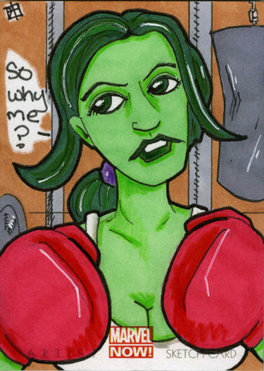 Marvel Now - She-Hulk by 10th-letter
