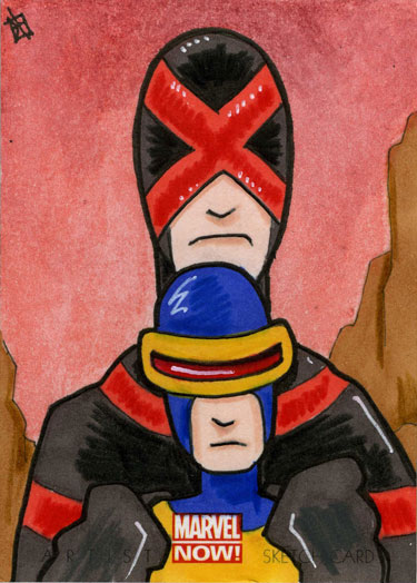 Marvel Now - Cyclops by 10th-letter