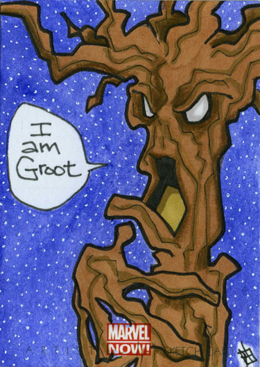 Marvel Now - Groot by 10th-letter