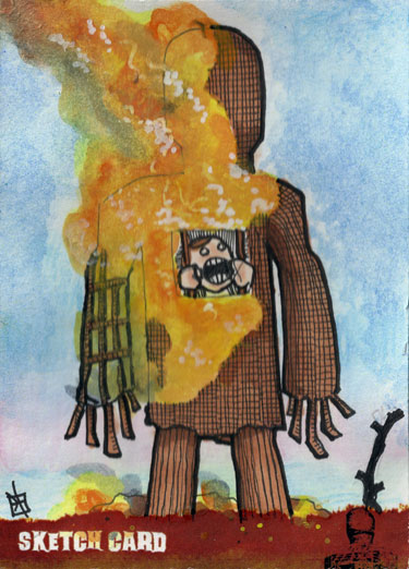 The Wicker Man - The End by 10th-letter