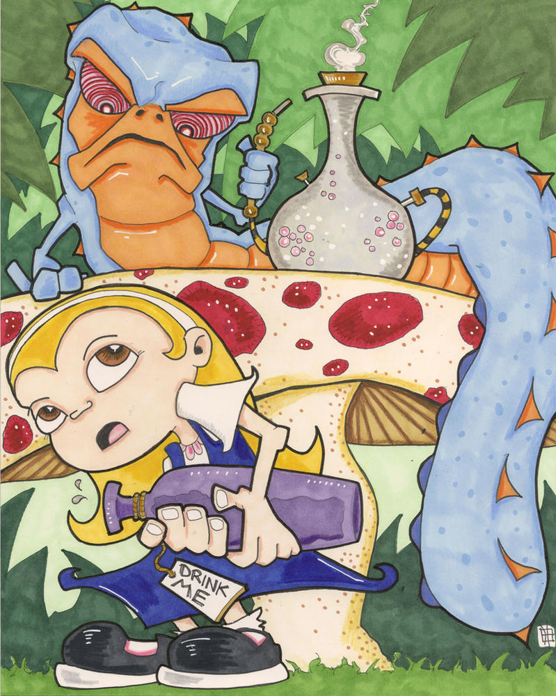 Artist Dreams - Alice in Wonderland by 10th-letter
