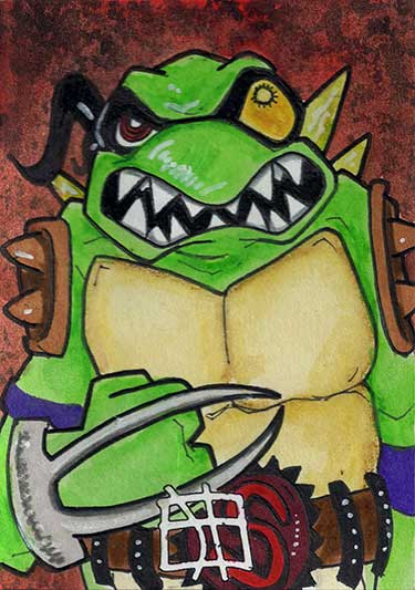Teenage Mutant Ninja Turtles - Slash by 10th-letter