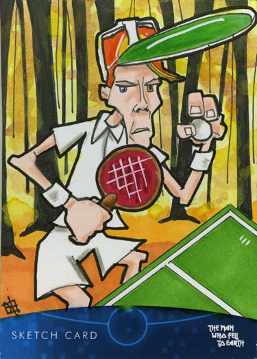 The Man Who Fell to Earth - Tennis Anyone? by 10th-letter