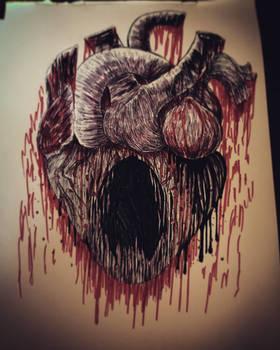 Sad Heart Scream